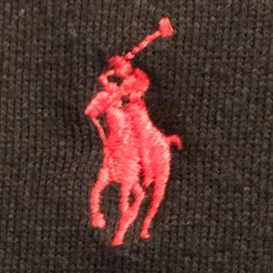 Polo by Ralph Lauren Shirts - Polo Ralph Lauren Black Crewneck Swearshirt Size L